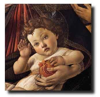 Sandro Botticelli, Madonna della melagrana