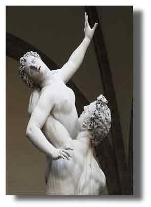 Giambologna: Ratto delle Sabine (part.) 1583