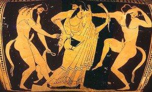 Dioniso e i satiri