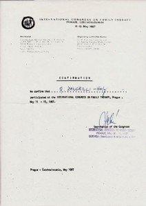 Dott. Quirino Zangrilli - Congresso Internazionale di Psicoterapia PRAGA
