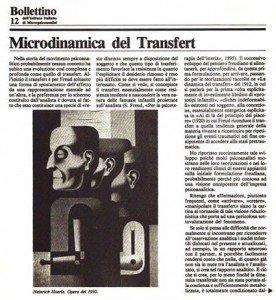 Dott. Quirino Zangrilli - Microdinamica del transfert