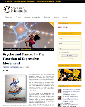 psiche e danza
