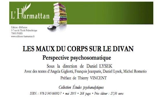 LES MAUX DU CORPS SUR LE DIVAN Perspective psychosomatique
