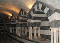 San Fruttuoso: le tombe dei Doria